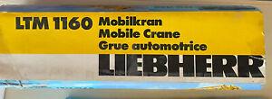 Conrad LIEBHERR LTM 1160 MOBILE CRANE 1:50 SCALE