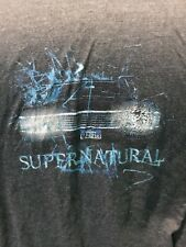 Rare Supernatural Tv Show T-Shirt Anvil Tr-Blend Rayon Cotton Polyester Size Xl