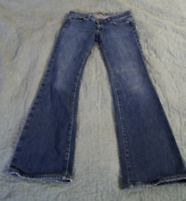 Anthropologie Paige Sz 27 X 29 Stretch Denim  Boot Cut Jeans Hollywood hills G1