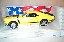 1970 FORD BOSS MUSTANG ERTL 20 Yr old 1:18DC 7473/7484