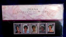 1997 DIANA PRINCESS OF WALES PRESENTATION PACK STAMPS. ROYAL MINT ISSUE