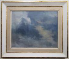 John Charles Wilkinson RBA (1929-) BRITISH impressionist Oil Painting of CLOUDS