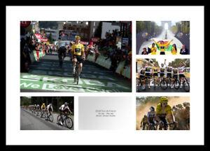 Geraint Thomas & Team Sky 2018 Tour de France Cycling Photo Memorabilia (MU18)