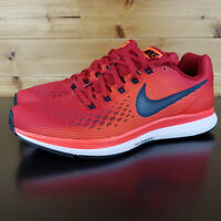 NIKE AIR ZOOM PEGASUS 34 MEN'S SHOES RUNNING SNEAKERS RED 880555-600