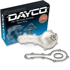 Dayco Water Pump for Dodge Rampage 1982-1984 - Engine Tune Up Accessory ze