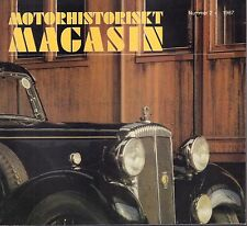 Motorhistoriskt Magasin Swedish Car Magazine #2 1987 Austin Martin 031617nonDBE