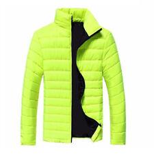 2018 Men's Winter Hooded Thick Padded Jacket Zipper Slim Outwear Coat Warm GW