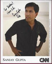 Dr. Sanjay Gupta, CNN Medical Correspondent, Signed Photo, COA, UACC RD 036
