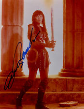 Xena photo photograph auto autographed by Lucy Lawless as Xena with coa