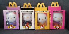 """McDonald's Hello Kitty 6"""" Plush Toy Collection Grimace Birdie Hamburglar Roland"""