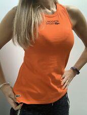 Genuine LACOSTE gym Vest Top T Shirt Lounge Wear Uk 8
