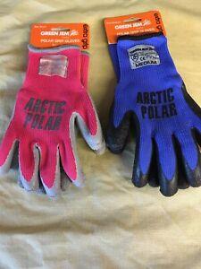 Ladies Artic Polar winter gloves,Small, Medium, Extra grip