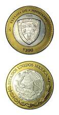 Mexico State Of Chihuahua 2005 100 Pesos Silver/Brass Bimetallic Crown 0.64865 A