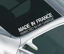 Made in france pare-brise autocollant voiture fenêtre autocollant pare-brise jdm autocollant 60
