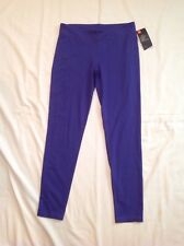 Girls Youth Under Armour Leggings Long Pants Polyester Purple XL NWT