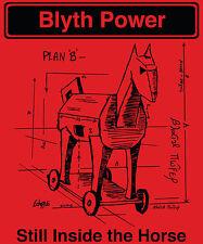 Blyth Power 'Plan B' T-Shirt Red Ladies L or S