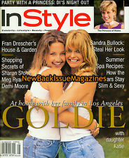 InStyle 8/96,Kate Hudson,Goldie Hawn,August 1996,NEW