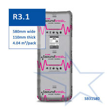 R3.1 | 580mm Fletcher Pink® Soundbreak Insulation Batts