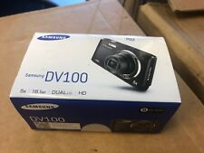 NEW Samsung DualView DV100 DV101 16.1MP Digital Camera - Black