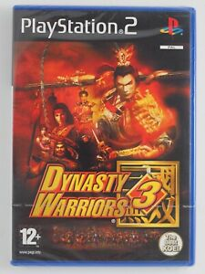 Dynasty Warriors 3 (PS2 Game) NEW & FACTORY SEALED