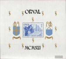Bélgica Bloque 12 (completa.edición.) nuevo con goma original 1941 Orval