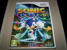 Sonic Colours  Wii   **New & Sealed**