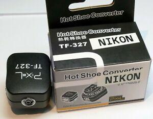 Nikon Accessoire Chaussure Adaptateur Convertisseur pour PC Sync Cordon Flash