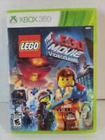 The LEGO Movie Video Game (Microsoft Xbox 360, 2014) Complete and Tested