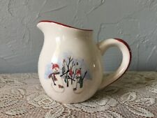 Royal Seasons Snowman Christmas Creamer Holiday Stoneware