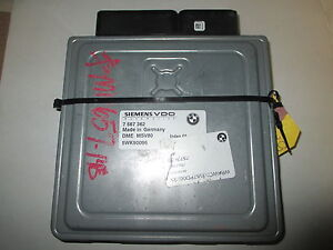 BMW MSV80 DME ALL PART NUMBERS AVAILABLE   ****PROGRAMMING & CODING INCLUDED****