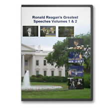 President Ronald Reagan's Greatest Speeches Four DVDs Time For Choosing C183-186