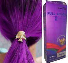 Hair COLOUR Permanent Hair Cream Dye Goth Punk Rock VIOLET - NO Parabens ammonia
