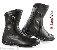 Falco Boots - Liberty 2 Black Motorcycle Waterproof Touring Boots