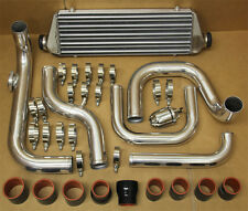 CIVIC 92-95 EG D15 D16 ALUMINUM BLOT-ON TURBO INTERCOOLER PIPING KIT + SSQV BOV