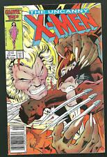 Uncanny X-Men 213 VF Wolverine Sabretooth 1980's