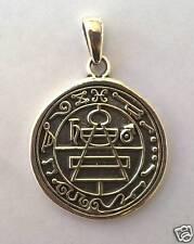 STERLING SILVER 925 SECRET SEAL OF KING SOLOMON PENDANT