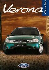 Ford Mondeo Verona 1.8i 5-dr Limited Edition 1997 UK Market Sales Brochure