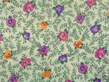 Hoffman Johnny Jump Ups C979 Yellow Quilt Fabric
