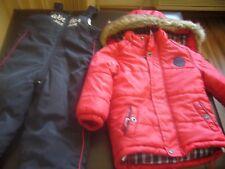 WOJCIK BABY HOODY WARM COAT &PANTS 2PC SIZE 3T