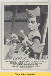 1966 Somportex Thunderbirds Virgil at the Controls of Thunderbird 1 #35 READ 0s4