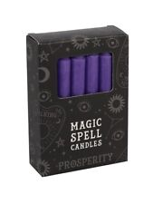Candles 12 Magic Spell - Prosperity Purple