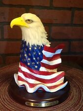 Eagle American Flag - The Gray Rock Collection Exclusive Amy and Addy Figurine