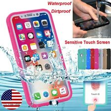 Apple iPhone XR XS Max 6s 7 8 Plus 5s Case Waterproof Dirt Shockproof TPU Cover