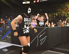 Tama Tonga Signed 11x14 Photo BAS COA New Japan Pro Wrestling Bullet Club NJPW I