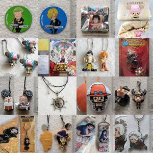 Grab-a-Bag merchandise anime one piece charm badge keychain stationary jewelry