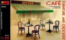 MiniArt 35569 Cafe Furniture and Crockery - Zubehör - 1:35