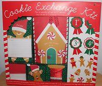 Cookie Exchange Kit Party Up To 12 People Invitations, Treat Bags, Meri, Meri