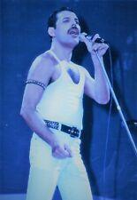 FREDDIE MERCURY QUEEN PHOTO 1985  ELITE UNIQUE UNRELEASED LIVE AID IMAGE 12 INCH