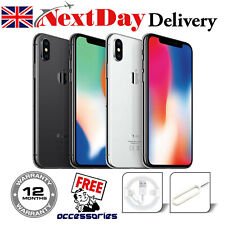 Apple iPhone X (iPhone 10) - 64gb 256gb-Entsperrt Smartphone, silber/spacegrau