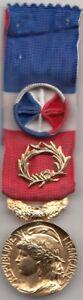 France Décoration / Médaille civile française d'honneur du Travail 35 ans